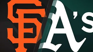Download Rodriguez, Sandoval lead Giants to 5-1 win: 7/20/18 Video