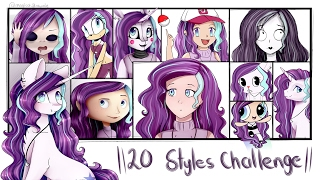 Download 20 Styles Challenge - Speedpaint Video
