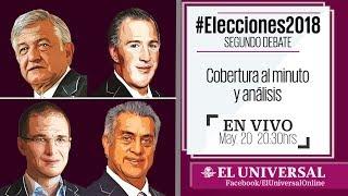 Download #Elecciones2018. Segundo debate Video