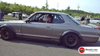 Download Rollout Video - Bungo Retro-car Charity Meeting - JDM, Hakosuka, Hachiroku, RX3... Video