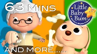 Download Little Baby Bum | Old Mother Hubbard | Nursery Rhymes for Babies | Songs for Kids Video