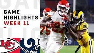Download Chiefs vs. Rams Week 11 Highlights | NFL 2018 Video
