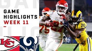 Download Chiefs vs. Rams Week 11 Highlights | NFL 2018 Video