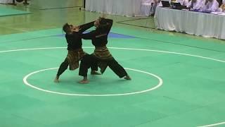 Download Ganda putra (sumbar) pencak silat PON XIX jawa barat Video