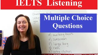Download IELTS Listening Tips: Multiple Choice Video