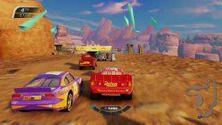 Download Sneak JR - Cars 3 Driven to Win -No Com- Lightning Mcqueen & Jackson Storm Vs Springs Video