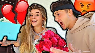Download Another GUY Bought Me Flowers Prank On Boyfriend! Video