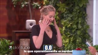 Download Ellen Show Subtitulado - Jennifer Lawrence y Chris Pratt juegan con Ellen Video