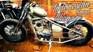 Download Indonesian small chopper motorcycle(honda CG 125) Video