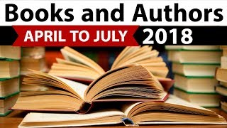 Download Books & Authors - Complete April to July 2018 - Current Affairs 2018 in Hindi - IBPS/SSC CGL/SBI Video
