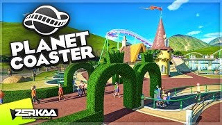 Download NEW AREA IN MY PARK!? (Planet Coaster #5) Video