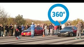 Download K Turbo CIvic Hatch vs Supercharged K series Hatch (360 View) Video