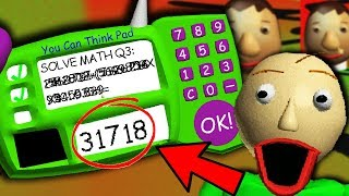 Download THE *REAL* ANSWER TO BALDI'S IMPOSSIBLE QUESTION?! | Baldi's Basics Gameplay Video