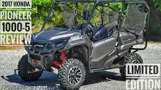 Download 2017 Honda Pioneer 1000-5 Limited Edition Review of Specs & Features / UTV Walk-Around | SXS10M5LE Video