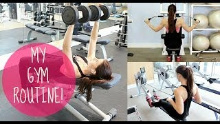 Download MY GYM ROUTINE | CHEST, BACK, ARMS AND SHOULDERS! Video