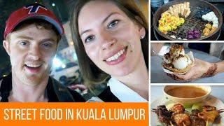 Download Malaysian Street Food Tour in Kuala Lumpur, Malaysia at Jalan Alor Street Night Market Video