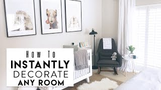 Download INTERIOR DESIGN: 5 Hacks to Instantly Decorate Any Room Video