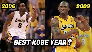Download What Year Was Kobe Bryant the Best Version of Kobe? Which Kobe Was Better? Video