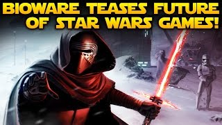Download Bioware Finally Teases Future RPG Star Wars Game Projects! Video