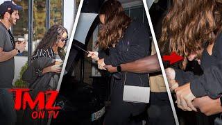 Download Rihanna Has Something Under Her Umbrella | TMZ TV Video