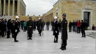 Download Change of Guards at Anıtkabir. Mustafa Kemal Atatürk Mausoleum. Feb. 17. 2013 Video