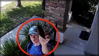 Download WOMAN SEES STRANGER BANGING ON HER DOOR... HUGS HIM AFTER WATCHING SECURITY CAM Video