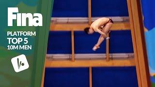 Download Top 5 - Men's 10m   FINA/NVC Diving World Series - Kazan 2017 Video