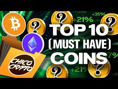 TOP 10 Coins We HODL!? Chico's Portfolio Revealed!!