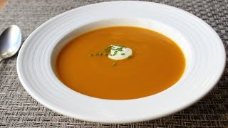 Download Roasted Butternut Squash Soup - Easy Butternut Squash Soup Recipe Video