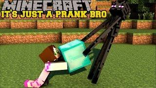 Download Minecraft: IT'S JUST A PRANK BRO! (SHEEP FOUNTAIN, FAKE DIAMONDS, & TELEPORT DIRT) Custom Command Video