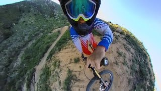 Download Downhill Mountain Biking With 360fly Camera - 360 Video! Video