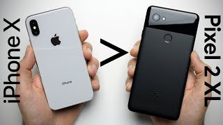 Download 25 Reasons Why iPhone X Is Better Than Google Pixel 2 XL Video
