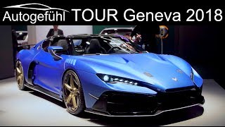 Download Geneva Motor Show 2018 Highlights REVIEW TOUR upcoming new cars @ GIMS - Autogefühl Video