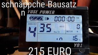 Download E-BIKE SCHNÄPPCHEN UMBAUSATZ 215 EURO 36V 350W VON YOSE POWER VORSTELLUNG Video
