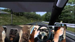 Download rFactor AE86 Akina Downwill multicam Video