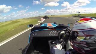 Download Caterham R500 vs Ariel Atom(s) Track Battle at Bedford Autodrome Video