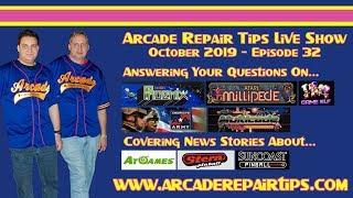 Download Arcade Repair Tips - Live Show - Episode 32 Video