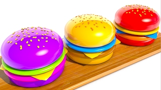 Download Learning Colors with Hamburgers Video