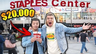 Download SURPRISING MY BEST FRIEND WITH $20,000 DREAM TICKETS!! *EMOTIONAL* Video