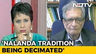 Download Notes Ban 'Despotic' And 'Authoritarian': Nobel Laureate Amartya Sen Video