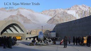 Download LCA Tejas Winter Trials - Leh 2015 Video