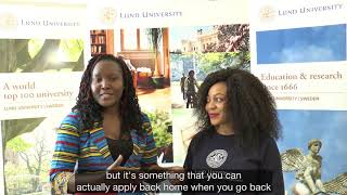 Download Welcome message for African students Video