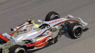 Download Assetto Corsa - McLaren MP4/22 vs. Ferrari F2002 Hotlap Shootout Video