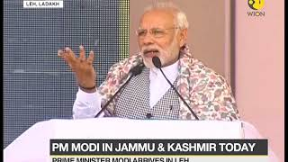 Download PM Modi in Kashmir: Modi to kick-start Zojila tunnel work Video