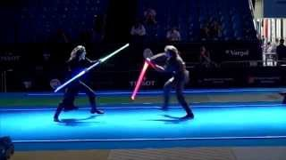 Download Star Wars duel on Fencing World Championships. BEST SOUND Video