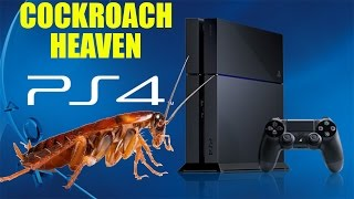 Download Cockroaches LOVE The PlayStation 4! Video