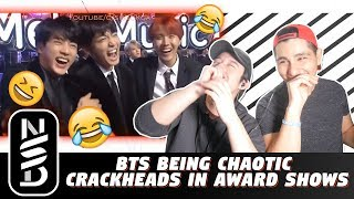 Download NSD REACT | 'BTS Being Chaotic Crackheads in Award Shows' Video