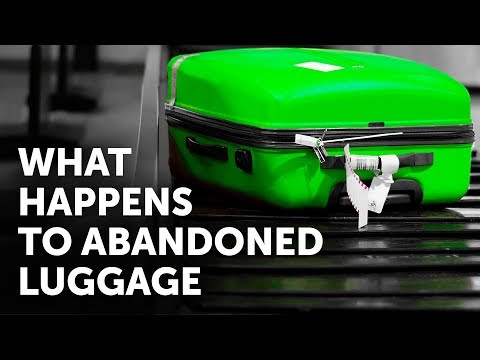What Happens to Luggage If Nobody Takes It