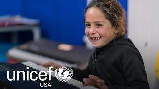 Download Music Therapy Helps Refugee Children Heal in Jordan Video