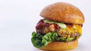 Download Two-Cheese Queso Burgers with Spiral of Two Sauces Video